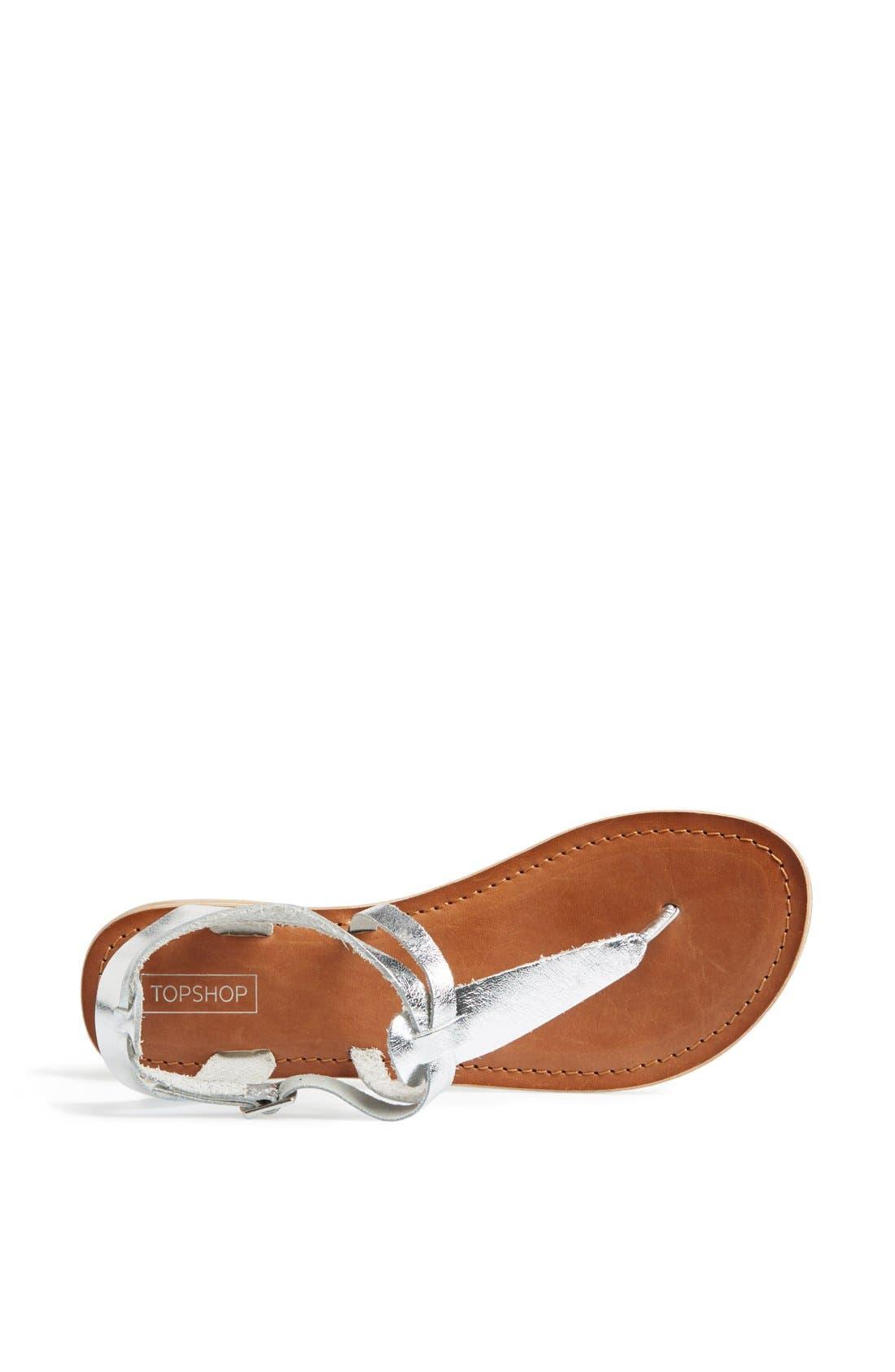 Alternate Image 3  - Topshop 'Horizon' Leather Sandal