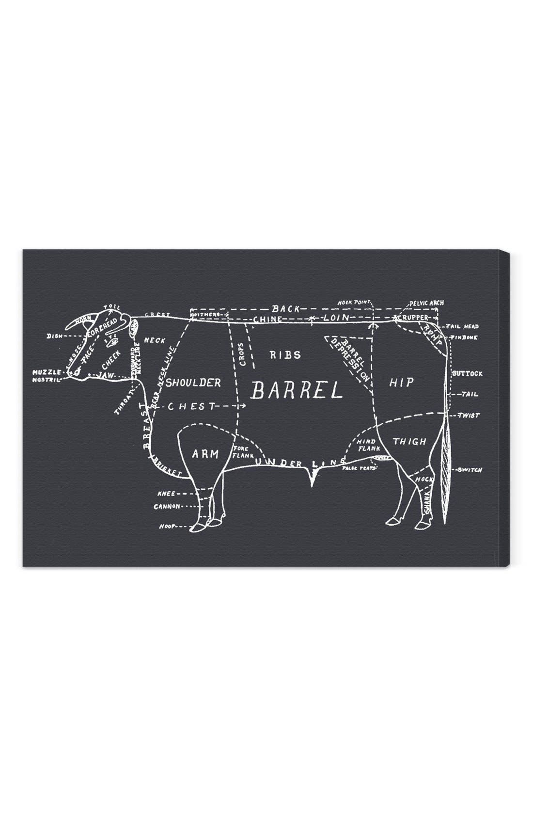Main Image - Oliver Gal 'Beef' Wall Art