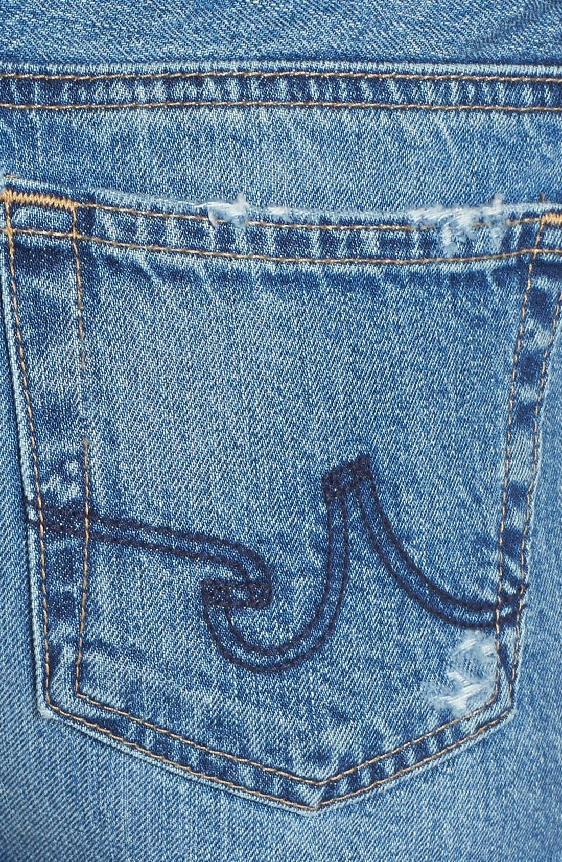 Alternate Image 3  - AG 'Bonnie' Denim Cutoff Shorts (14 Year Tailspin)