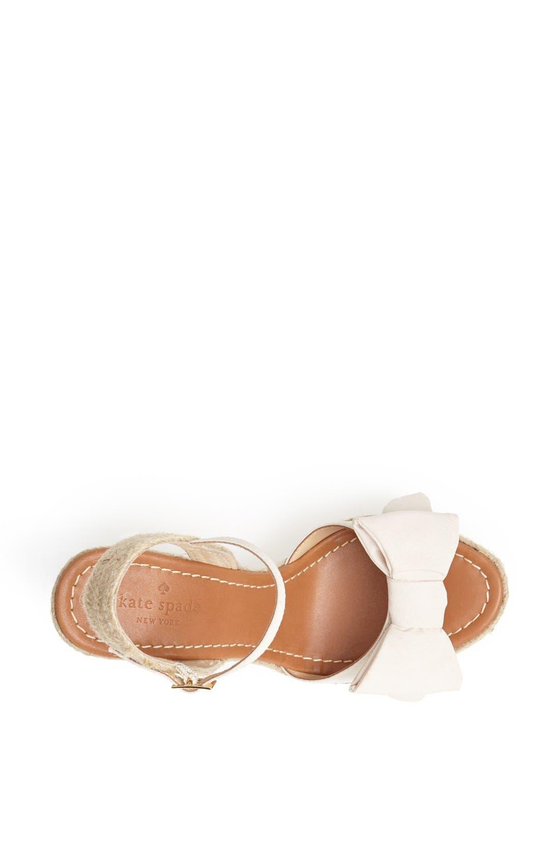Alternate Image 3  - kate spade new york 'jumper' sandal