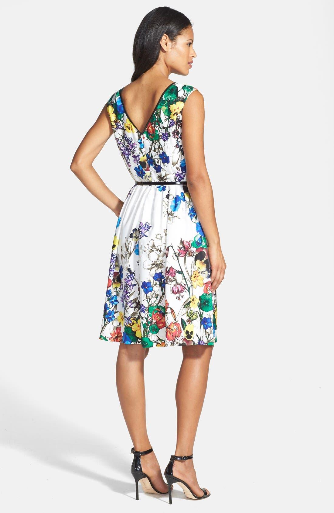 Alternate Image 3  - Ellen Tracy Fit & Flare Dress
