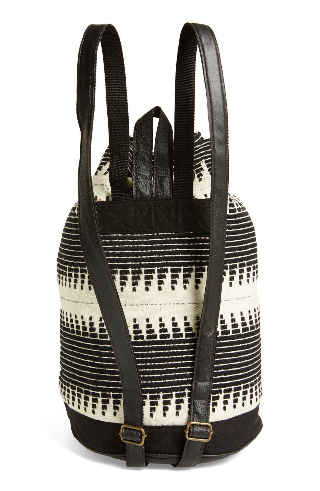 Alternate Image 3  - Topshop 'Zigzag' Backpack