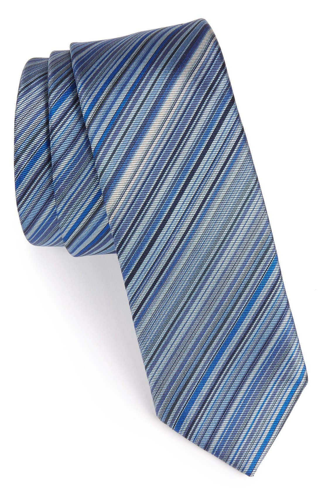 Main Image - Paul Smith Stripe Silk Tie