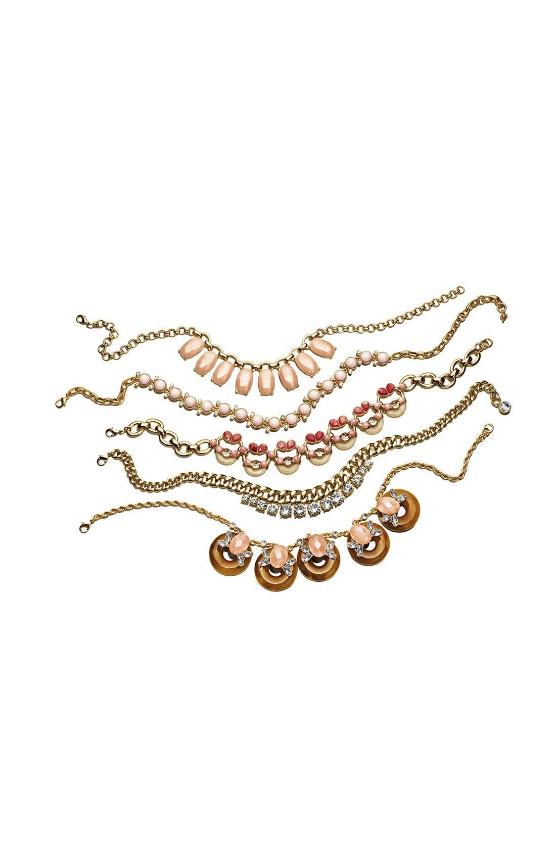 Alternate Image 4  - Lee by Lee Angel 'Soleil' Frontal Necklace