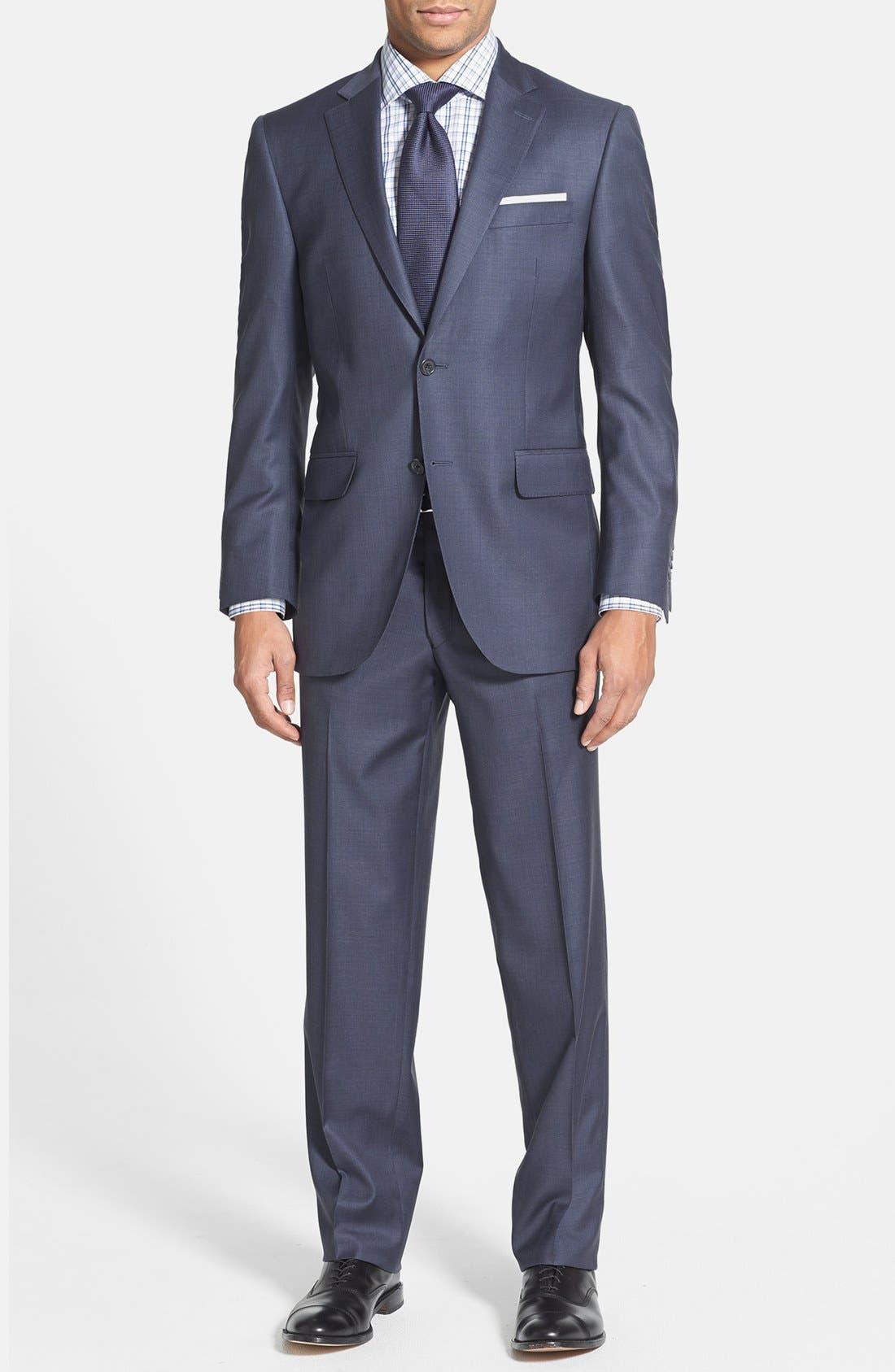 Main Image - Peter Millar Classic Fit Wool Suit