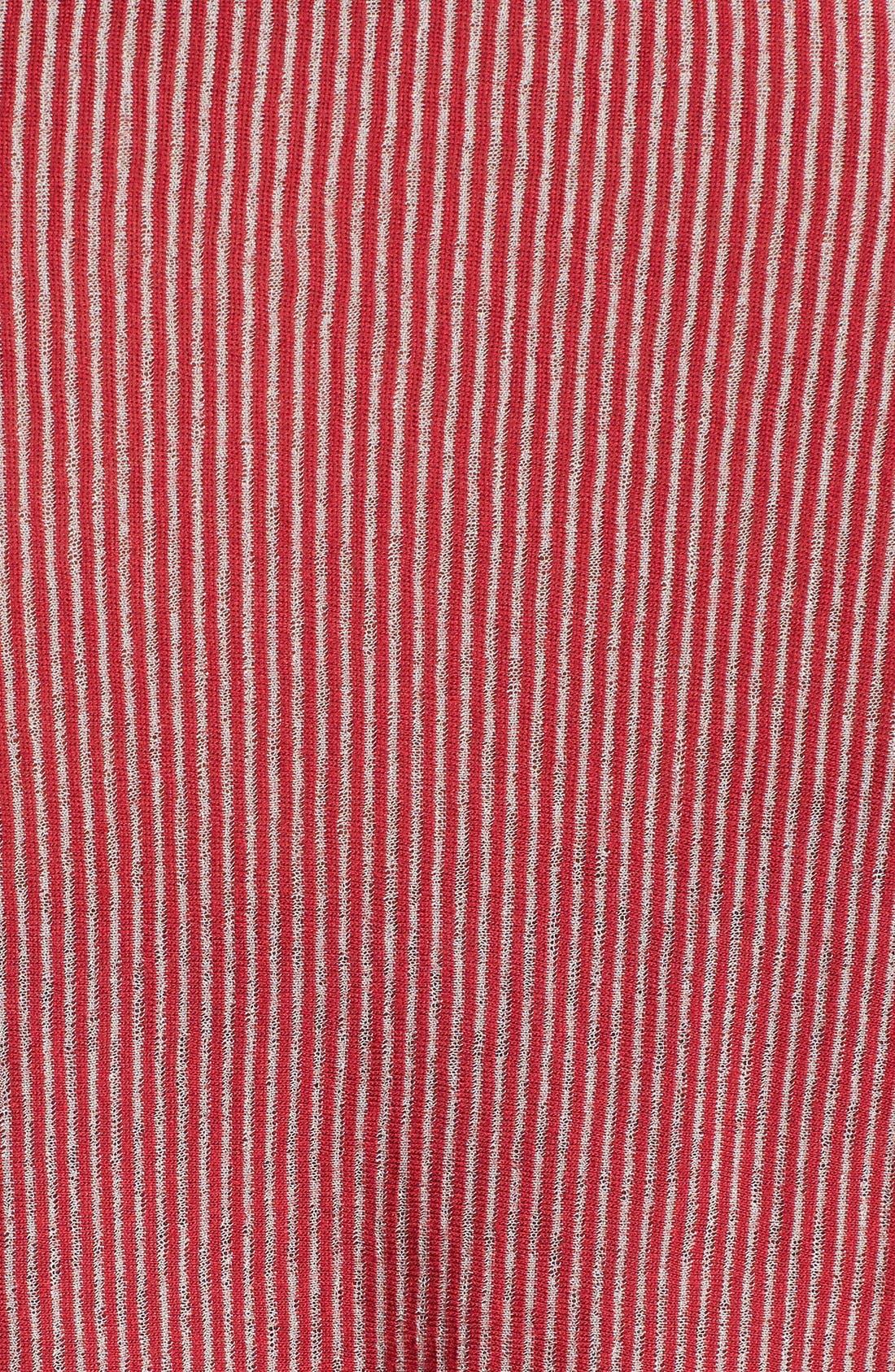 Alternate Image 3  - Pleione Drawstring Hem Drape Front Cardigan