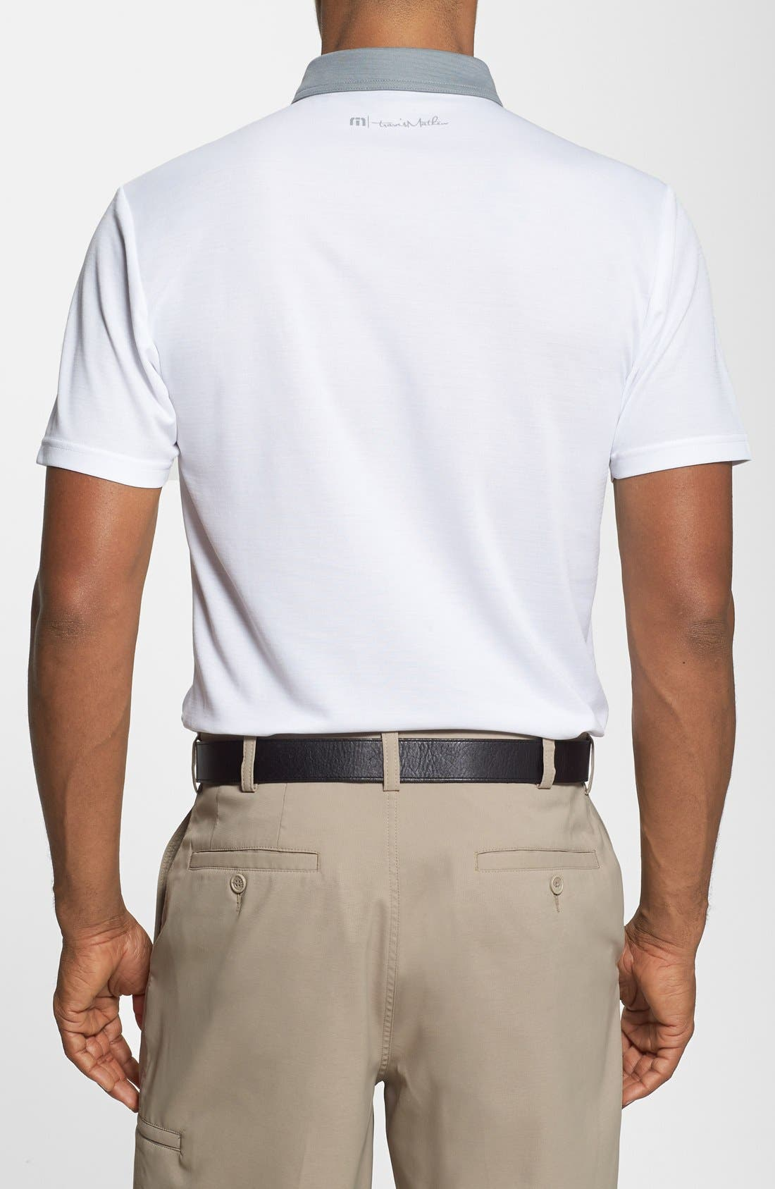 Alternate Image 2  - Travis Mathew 'Collins' Trim Fit Performance Golf Polo