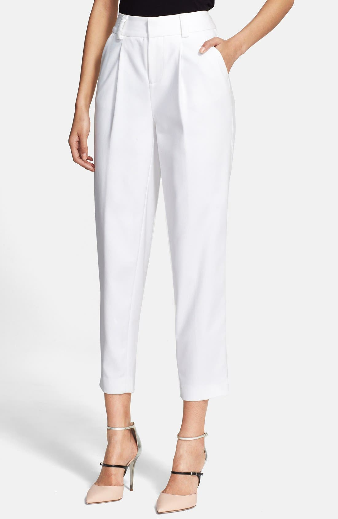 Main Image - Alice + Olivia 'Arthur' Ankle Pants