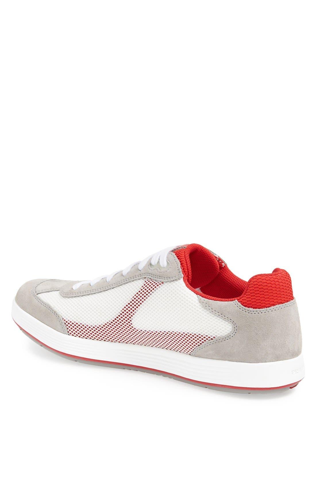 Alternate Image 2  - Prada Mesh Sneaker