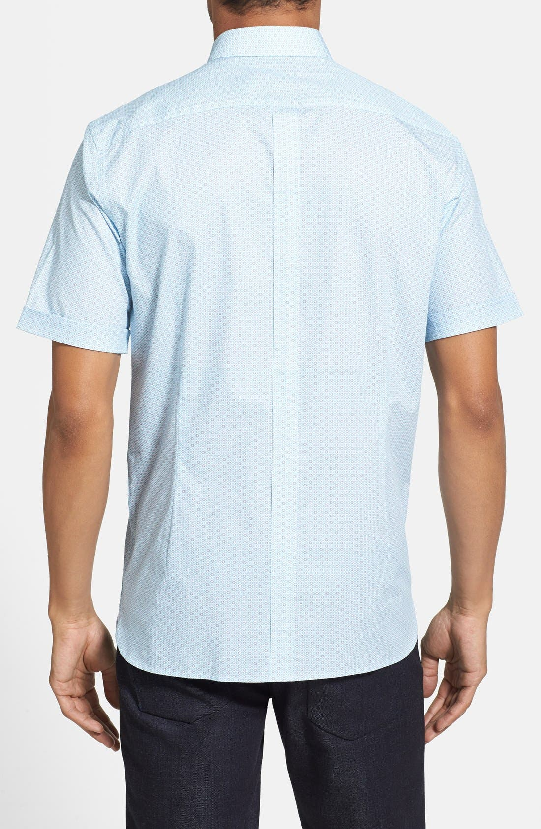 Alternate Image 2  - Report Collection Trim Fit Short Sleeve Sport Shirt