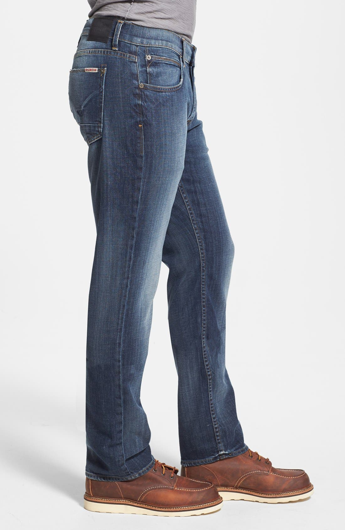 Alternate Image 3  - Hudson Jeans 'Byron' Straight Leg Jeans (Down South)