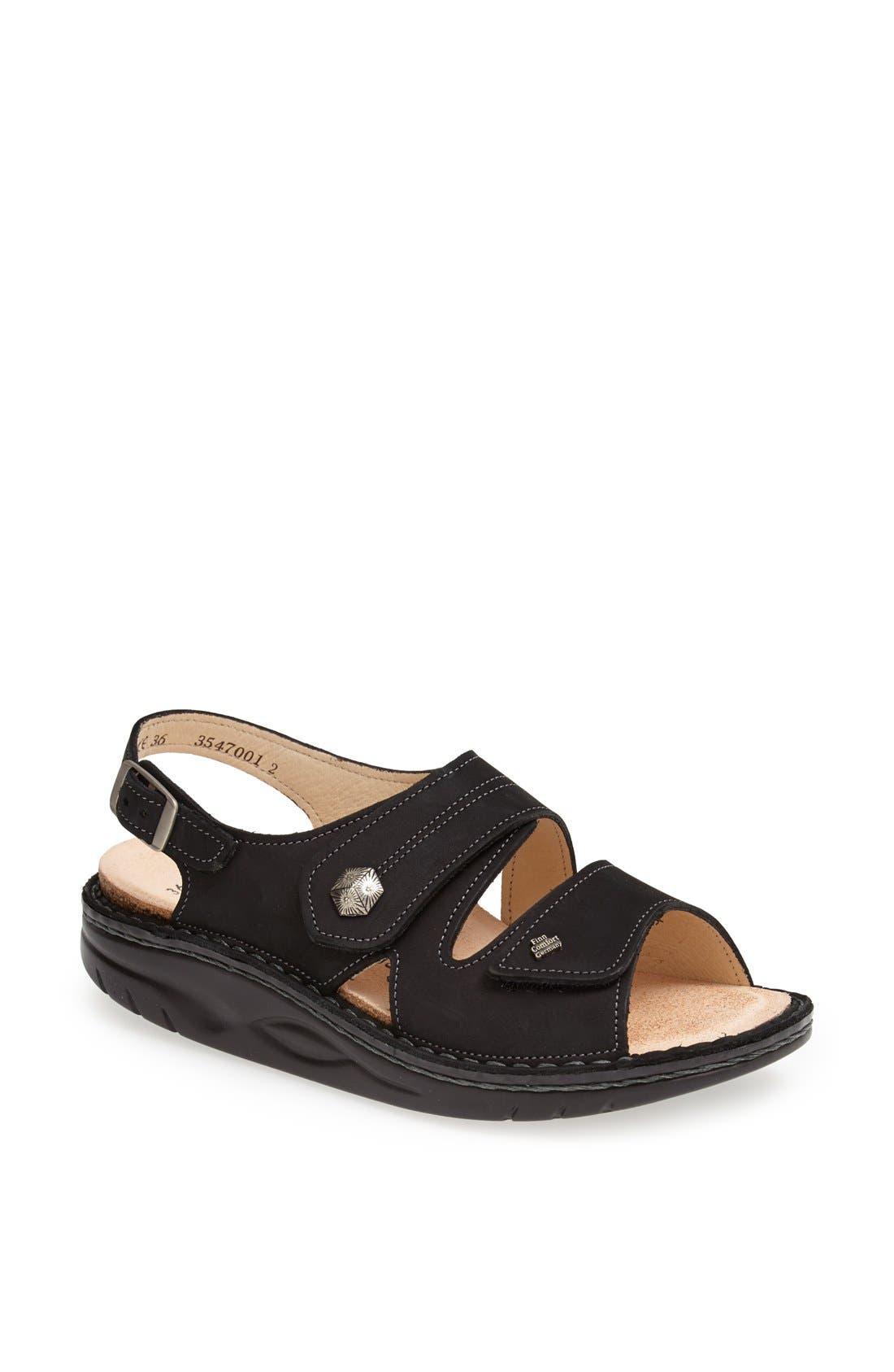 'Sparks' Sandal,                         Main,                         color, Black