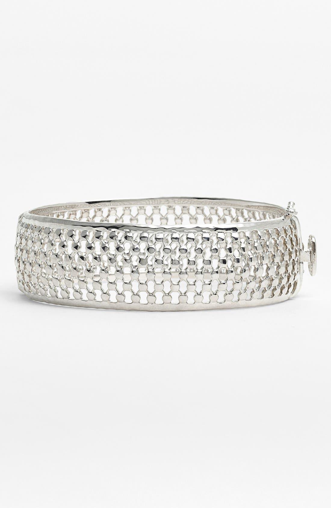 Alternate Image 1 Selected - Judith Jack 'Decadent Color' Wide Bangle Bracelet