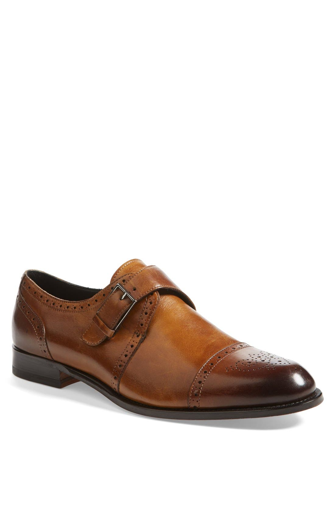Alternate Image 1 Selected - Bruno Magli 'Rovani' Monk Shoe