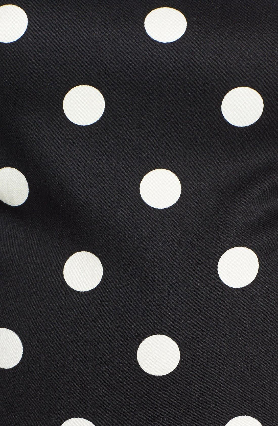 Alternate Image 4  - Betsey Johnson Polka Dot Bow Detail Fit & Flare Dress