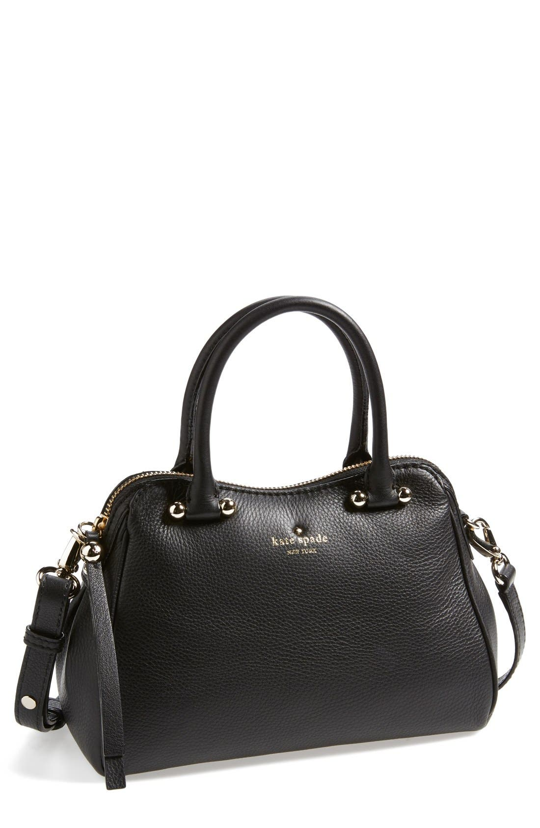 Alternate Image 1 Selected - kate spade new york 'charles street - mini audrey' leather satchel