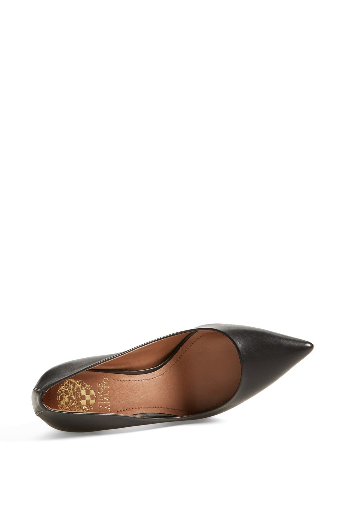 Alternate Image 4  - Vince Camuto 'Caprita' Leather Pointy Toe Pump (Nordstrom Exclusive) (Women)
