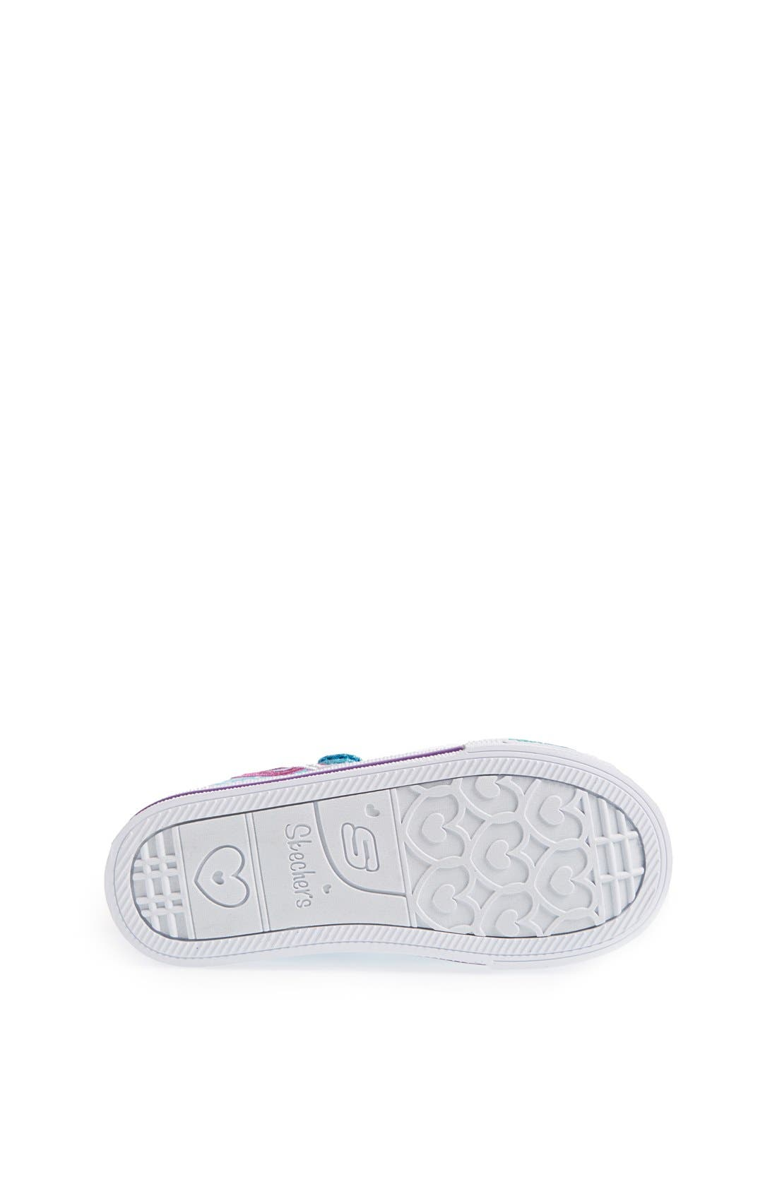Alternate Image 4  - SKECHERS 'Shuffles - Love Burst' Sneaker (Toddler)