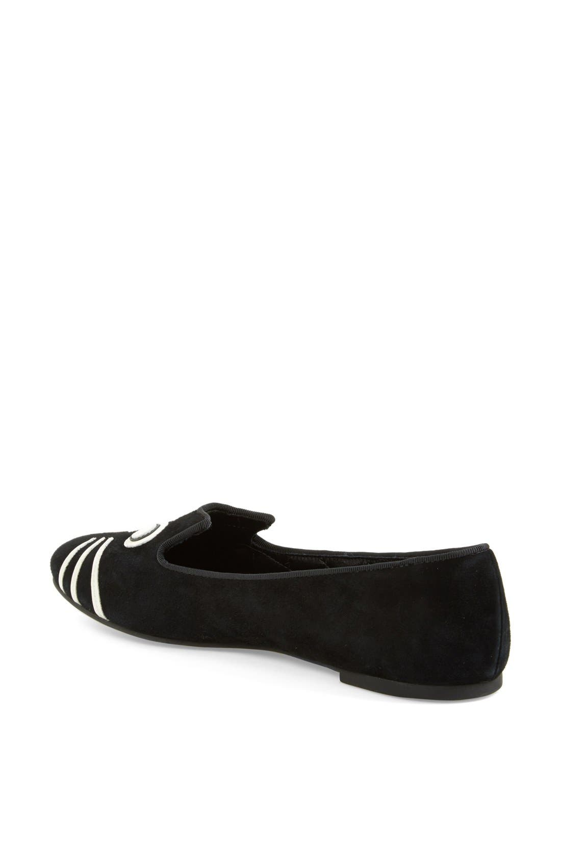 Alternate Image 2  - MARC BY MARC JACOBS 'Rue' Suede Smoking Flat