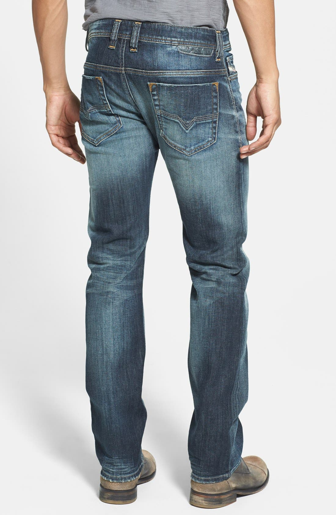 Alternate Image 2  - DIESEL® Safado Slim Fit Jeans (885K)