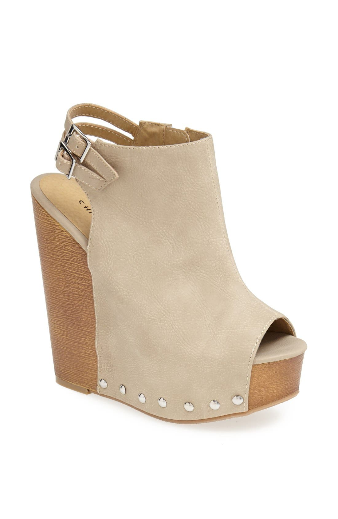 Alternate Image 1 Selected - Chinese Laundry 'Jeepers' Wedge Sandal