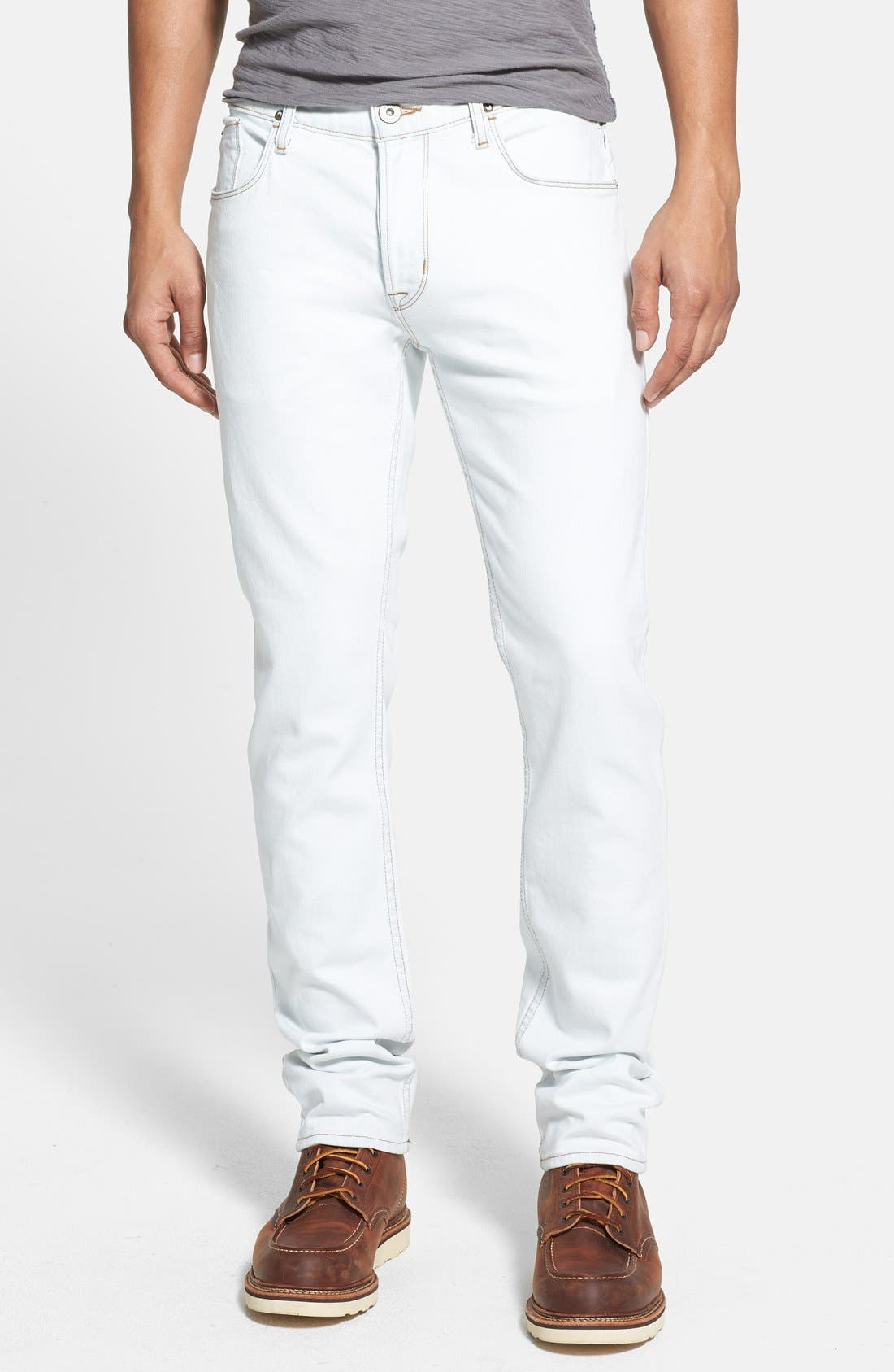 Main Image - Hudson Jeans 'Sartor' Slouchy Skinny Fit Jeans (Flashback)