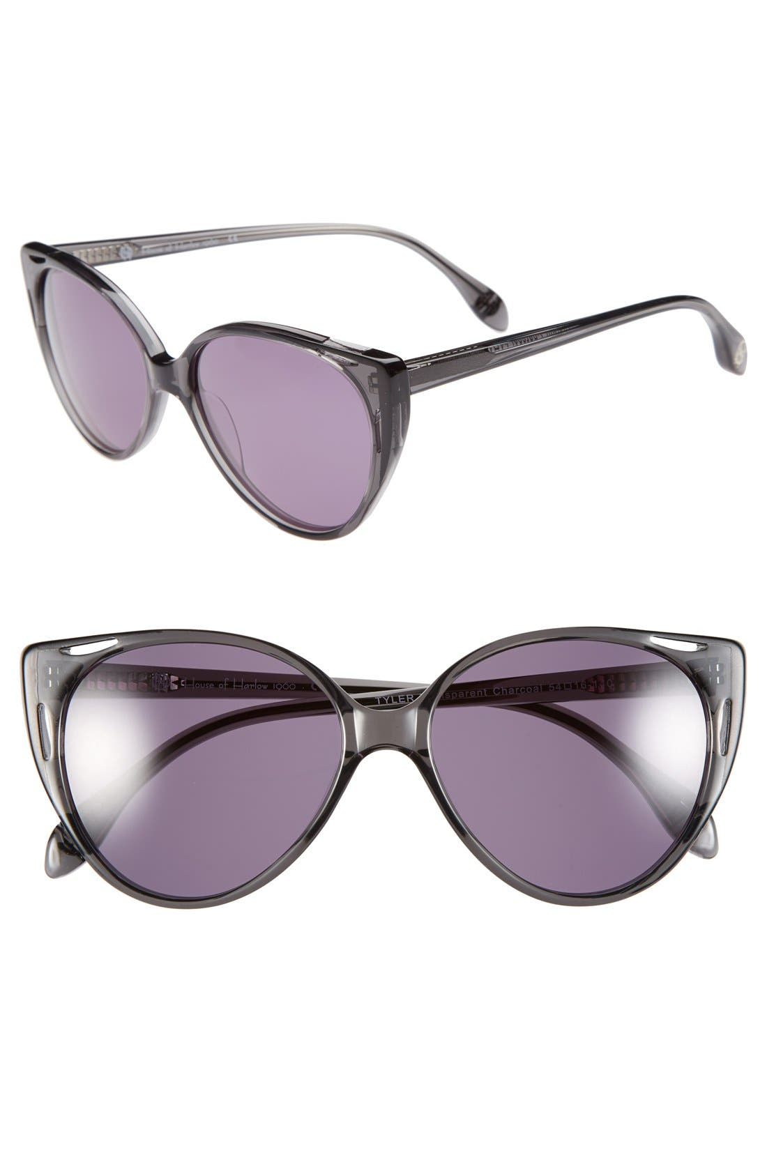 Main Image - House of Harlow 1960 'Tyler' 54mm Sunglasses