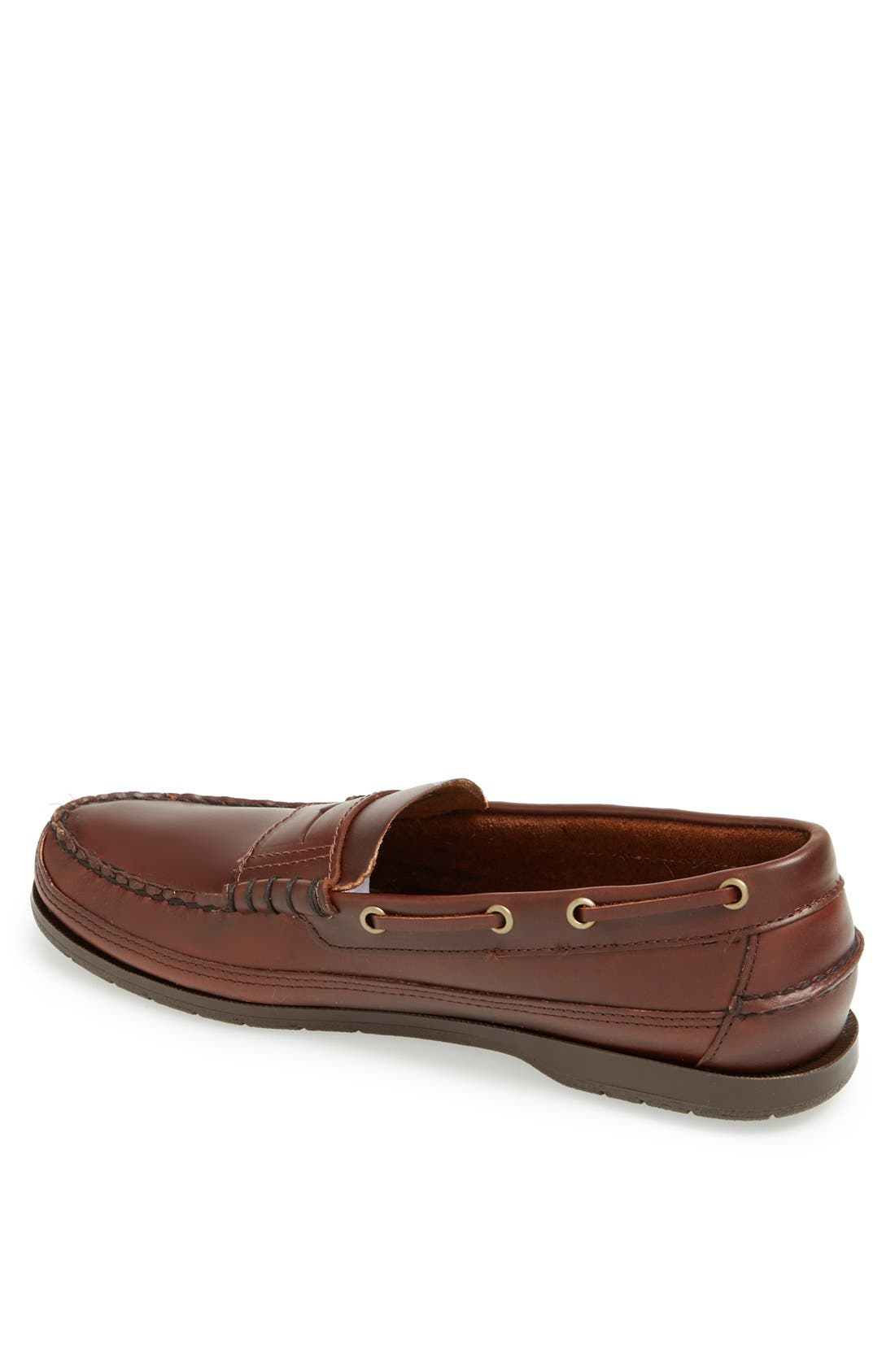 'Sloop' Penny Loafer,                             Alternate thumbnail 2, color,                             Brown