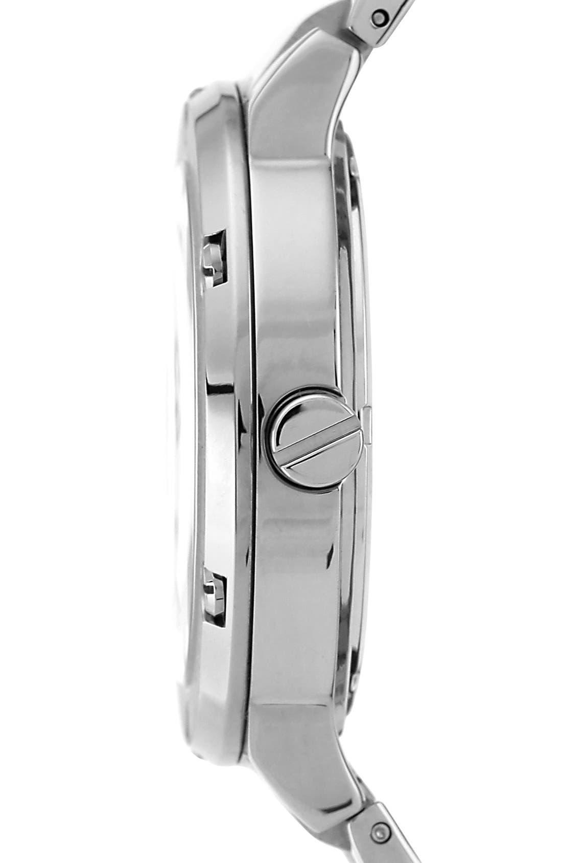 Alternate Image 3  - Vince Camuto Crystal Multifunction Bracelet Watch, 42mm