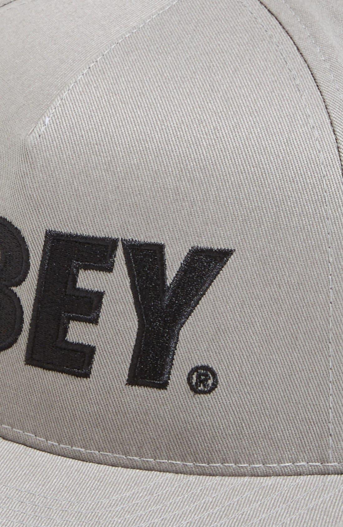 Alternate Image 2  - Obey 'The City' Snapback Baseball Cap