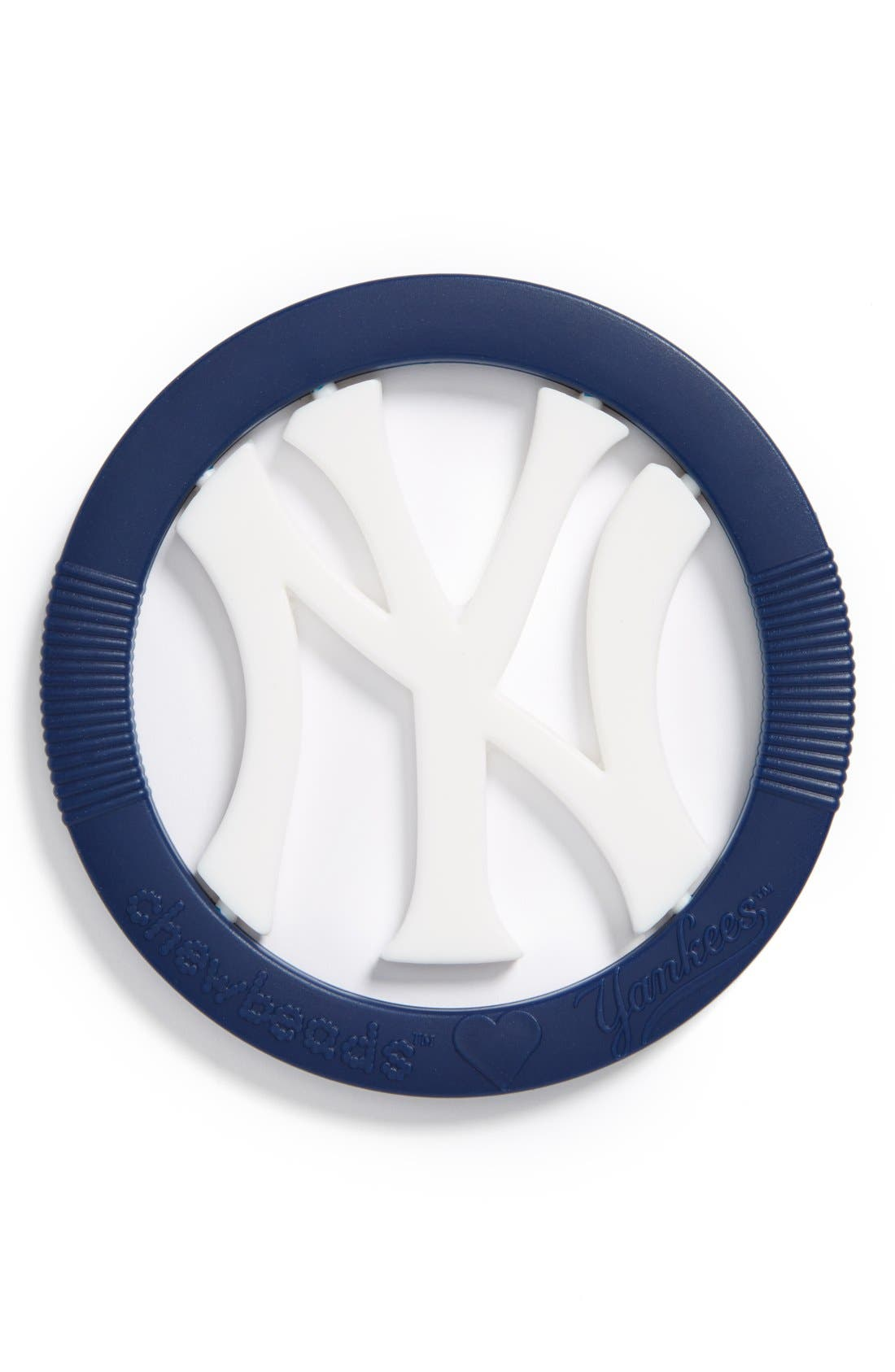 Alternate Image 1 Selected - Chewbeads 'New York Yankees - Gameday' Teether