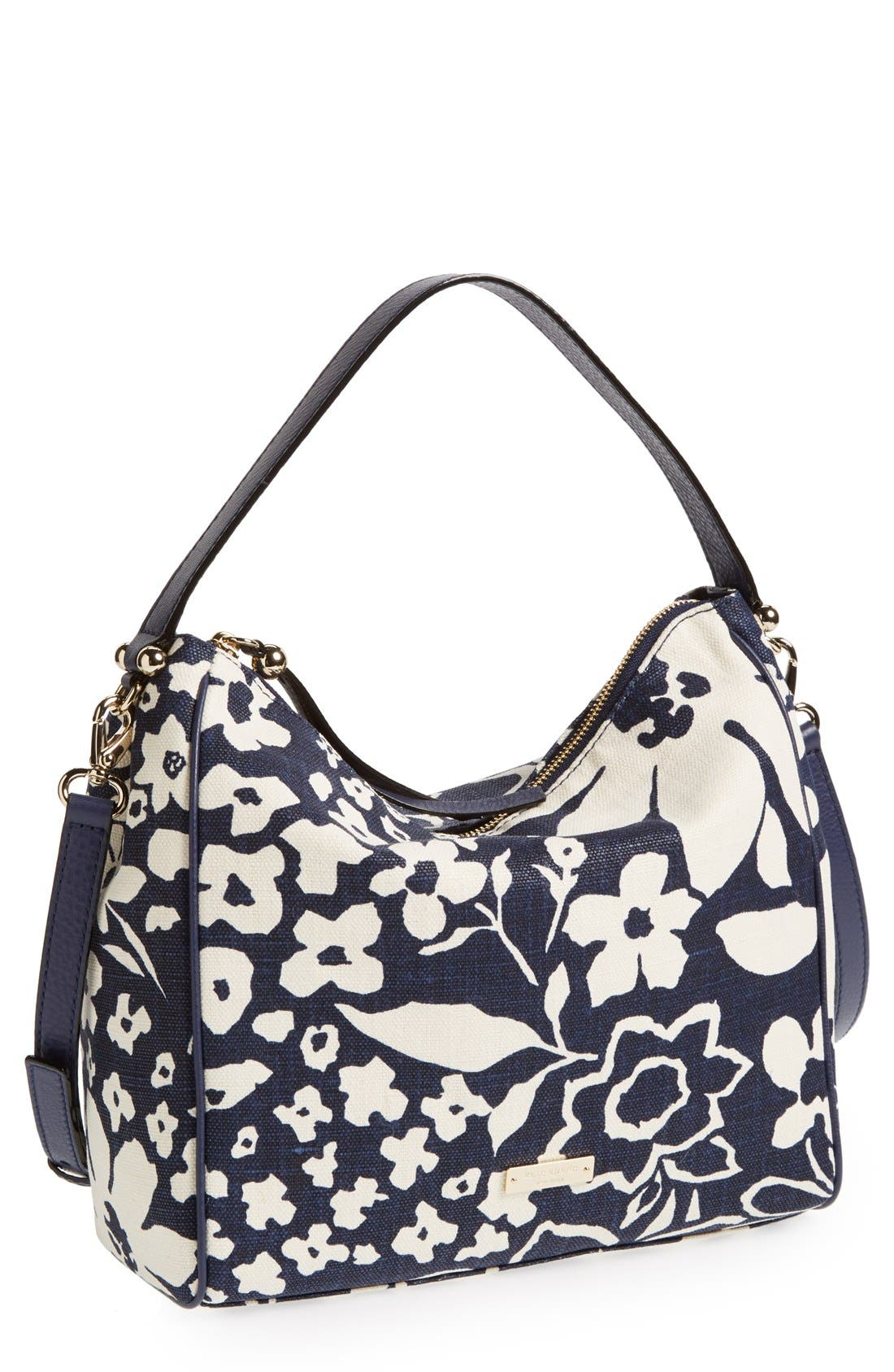 Main Image - kate spade new york 'small haven' canvas hobo