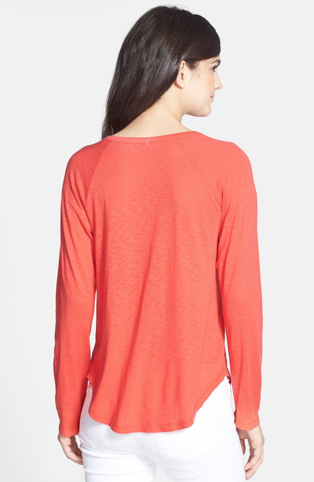 Alternate Image 2  - Splendid Slub Knit Cotton Blend Top