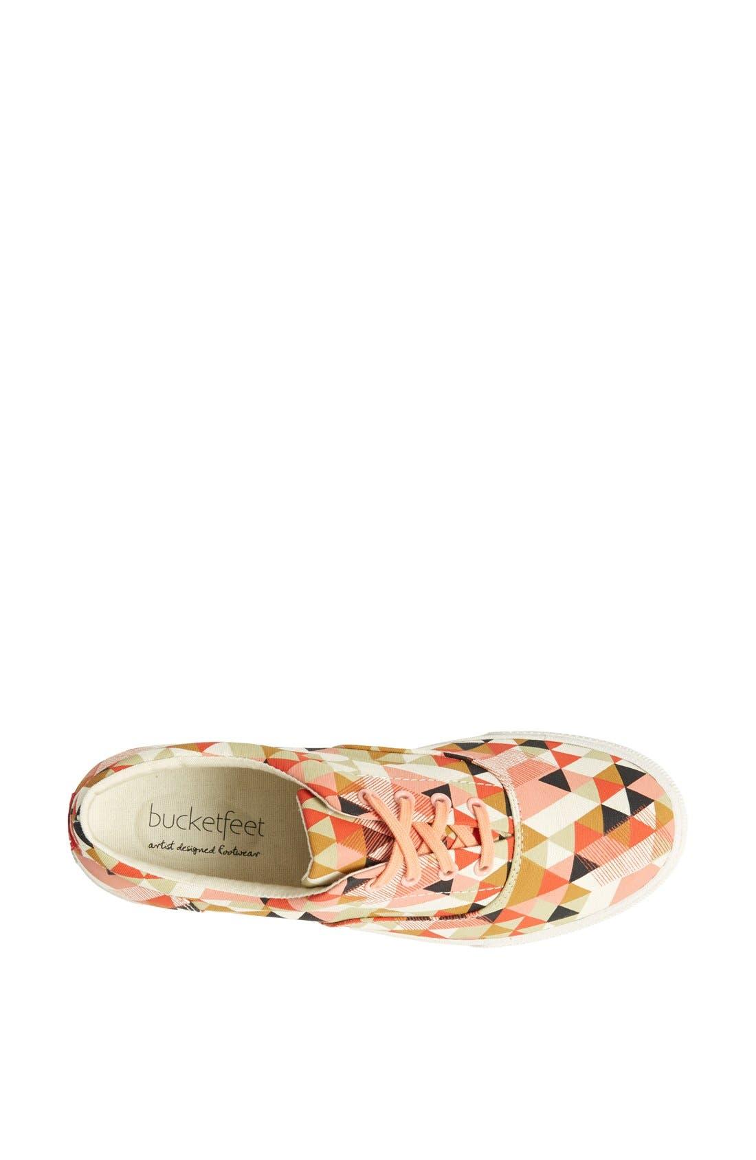 Alternate Image 3  - BucketFeet 'Delta' Canvas Sneaker (Women)