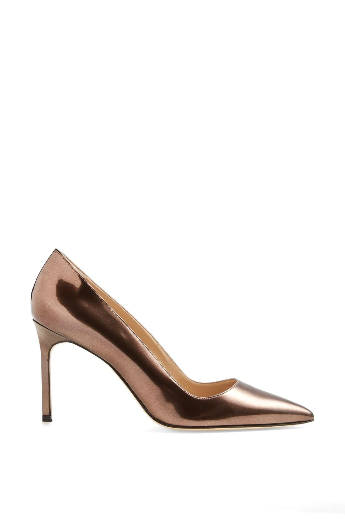 Alternate Image 4  - Manolo Blahnik 'BB' Patent Leather Pointy Toe Pump