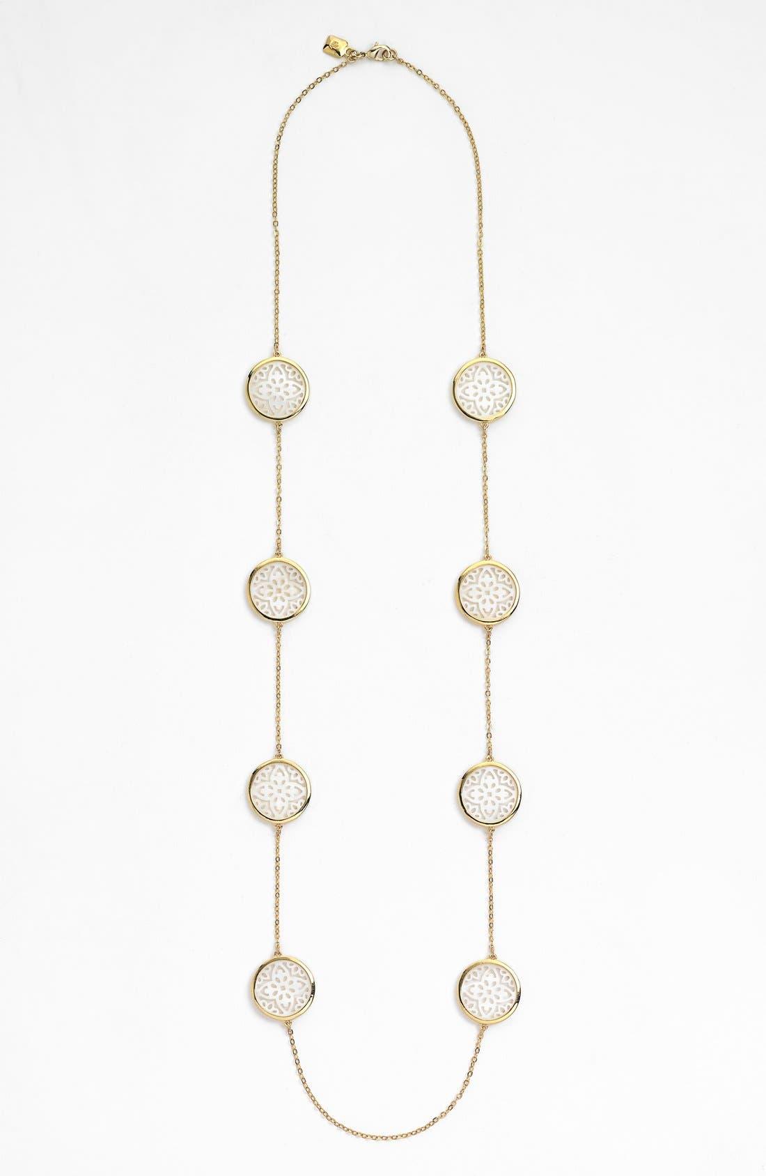 Alternate Image 2  - Lauren Ralph Lauren Long Illusion Necklace