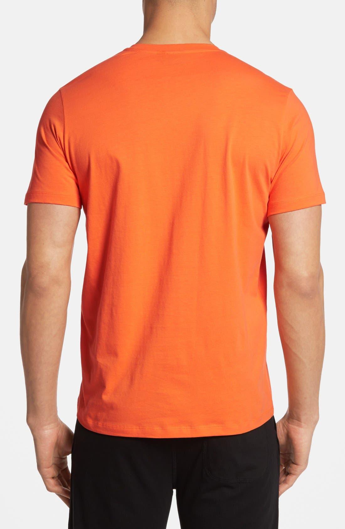 Alternate Image 2  - BOSS HUGO BOSS Cotton V-Neck T-Shirt