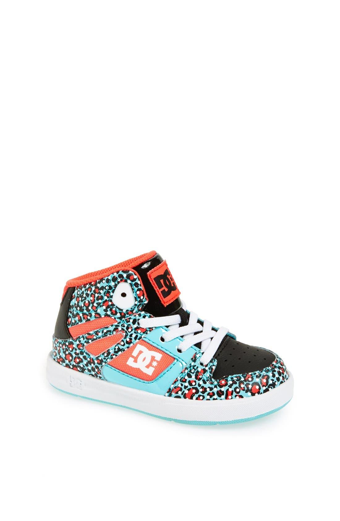 Main Image - DC Shoes 'Rebound' Sneaker (Walker & Toddler)