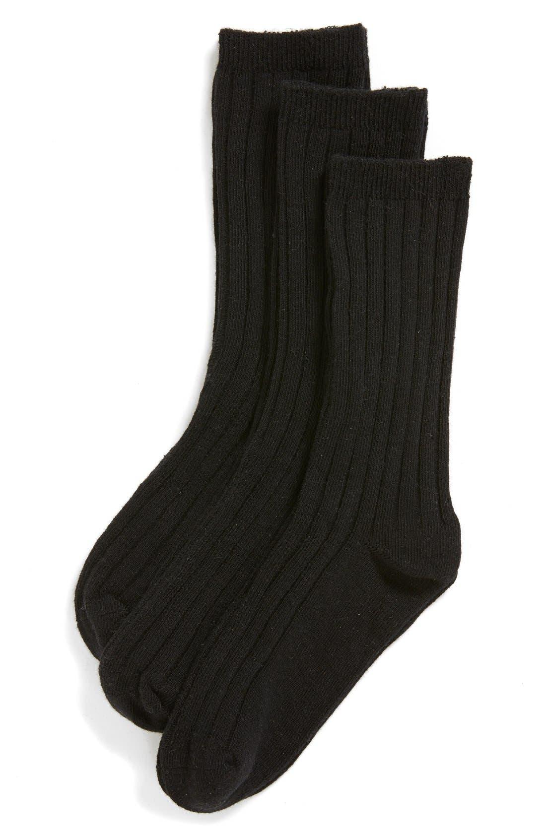 Tucker + Tate 3-Pack Dress Socks (Toddler Boys, Little Boys & Big Boys)
