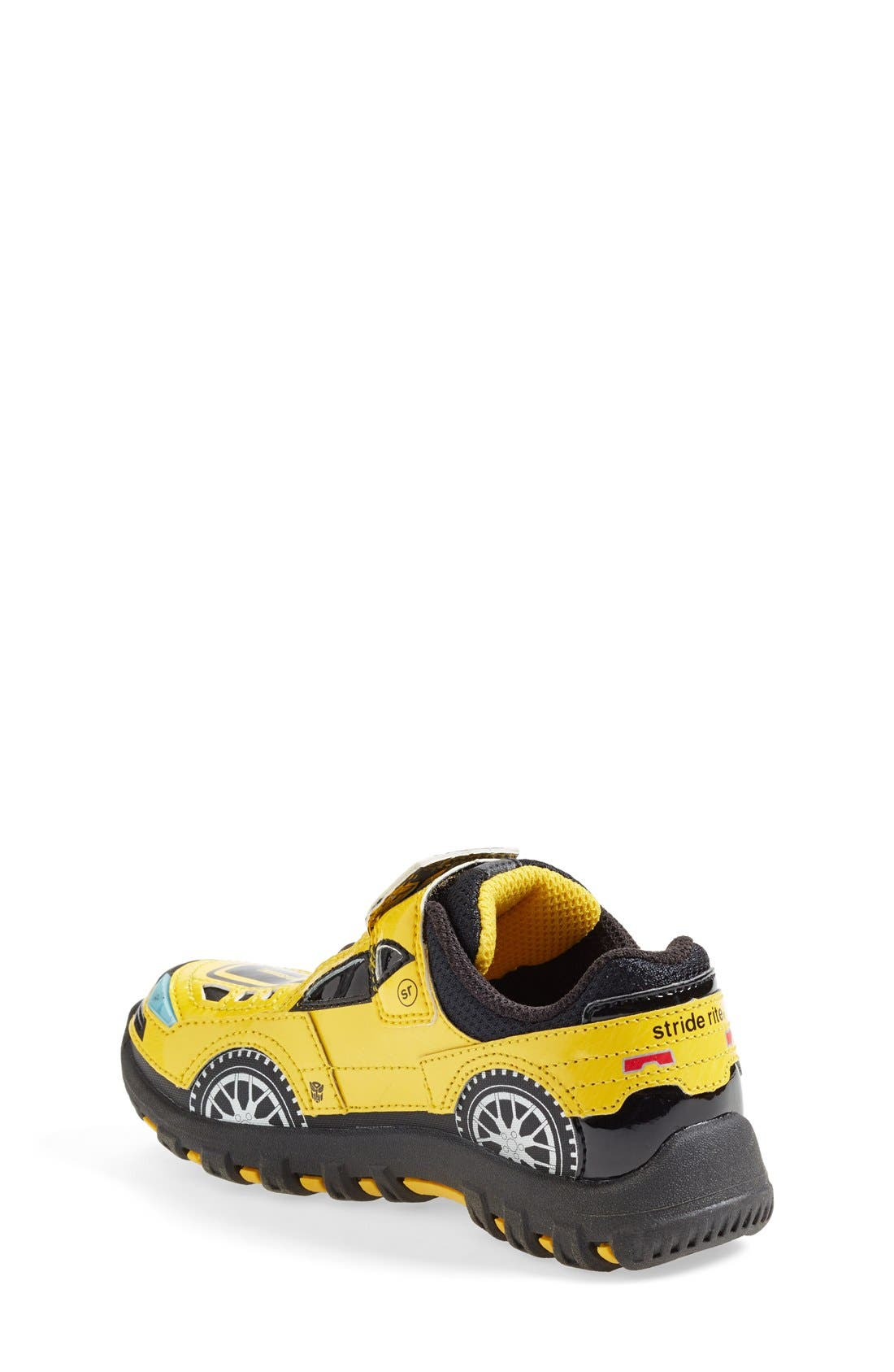 Alternate Image 2  - Stride Rite 'Bumblebee™' Light-Up Sneaker (Online Only) (Walker, Toddler & Little Kid)