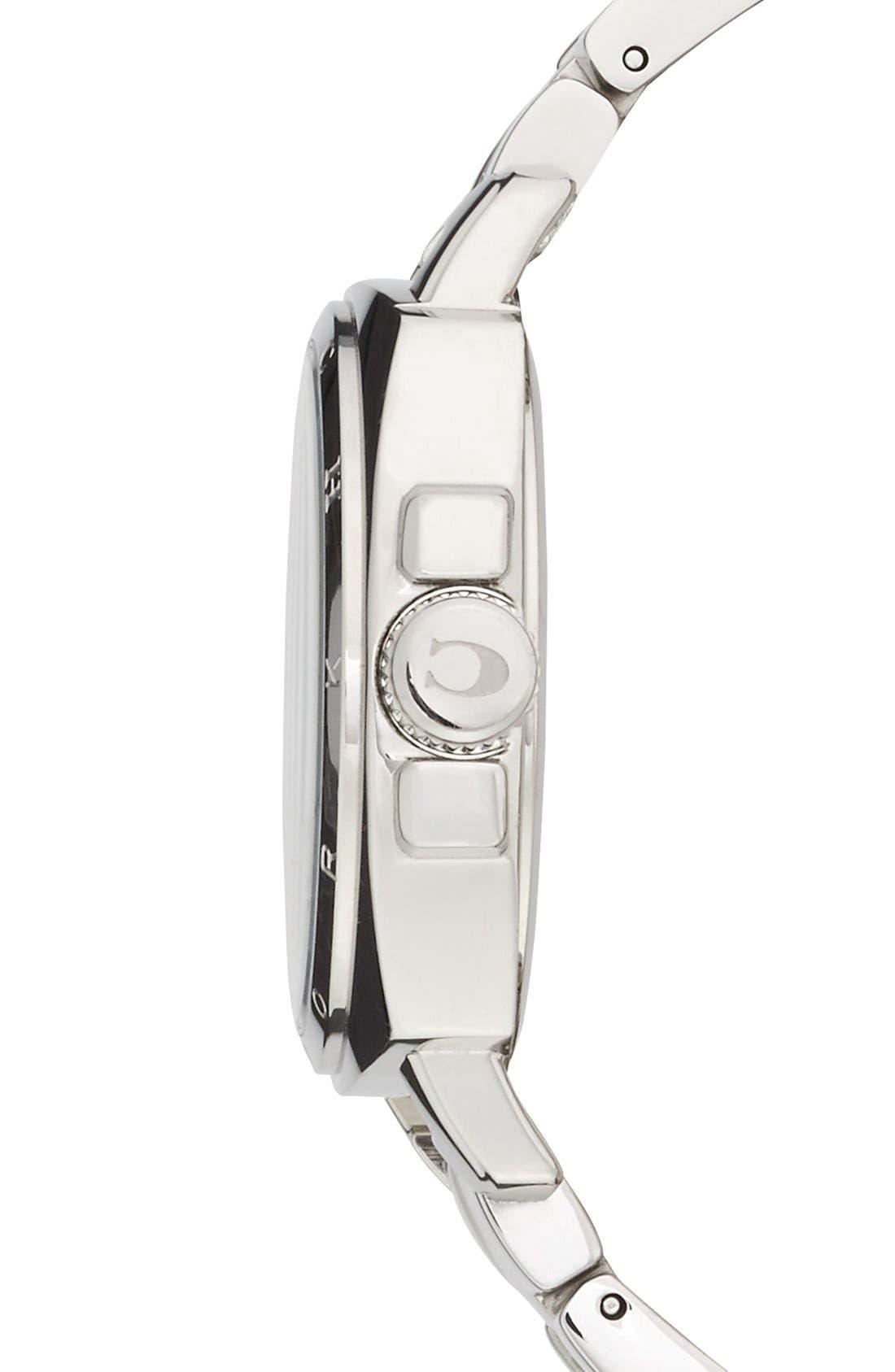 Alternate Image 3  - COACH 'Boyfriend' Pavé Dial Bracelet Watch, 34mm