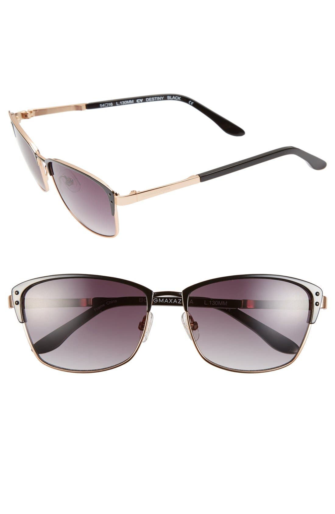 Main Image - BCBGMAXAZRIA 'Destiny' 54mm Sunglasses