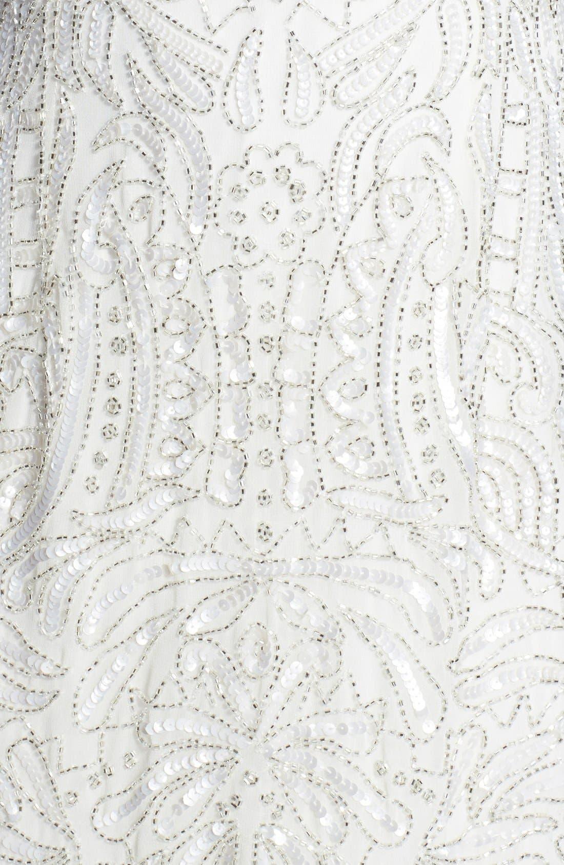 Alternate Image 4  - Aidan Mattox Short Beaded Dress