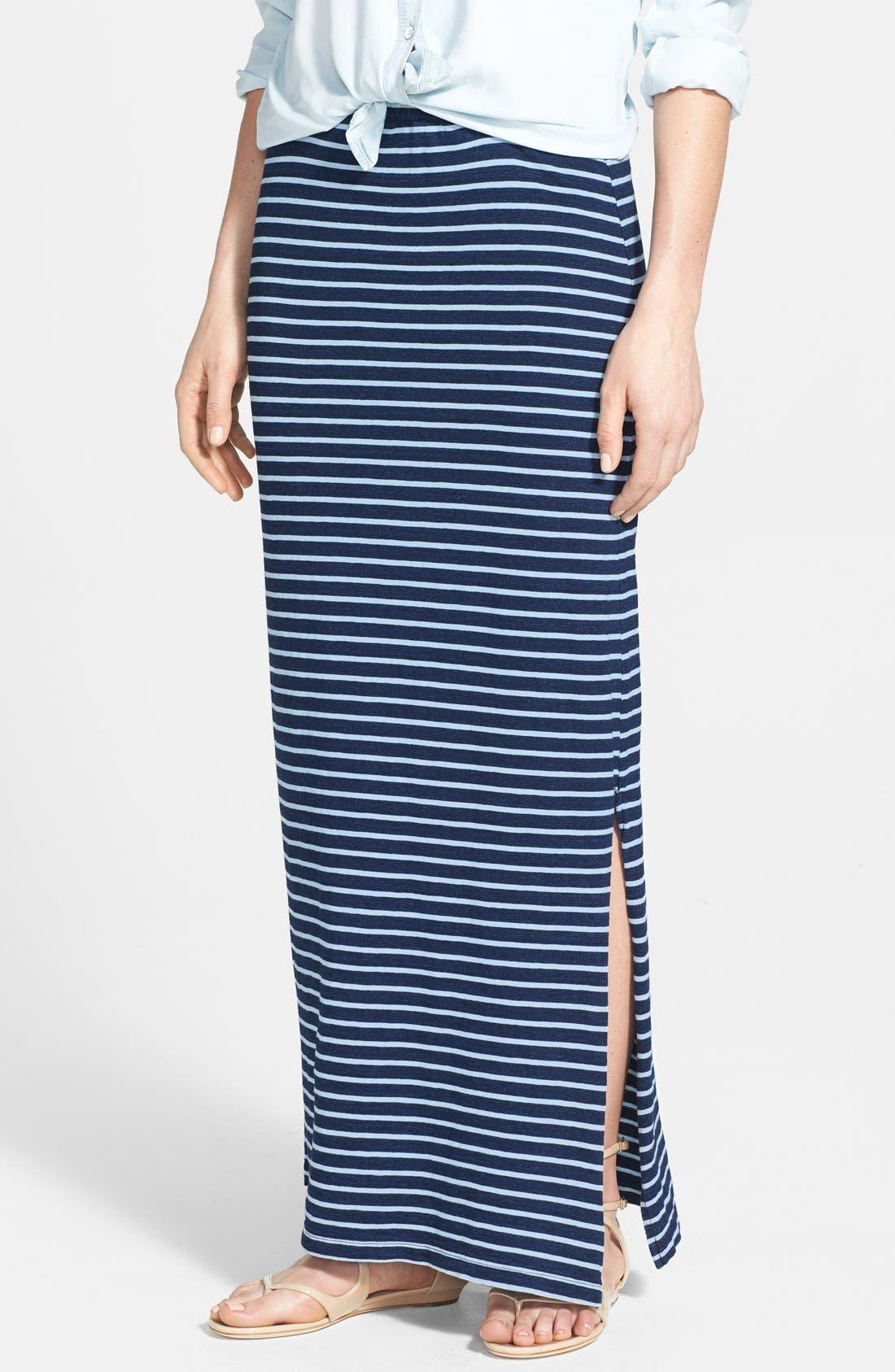 Main Image - Splendid Stripe Maxi Skirt