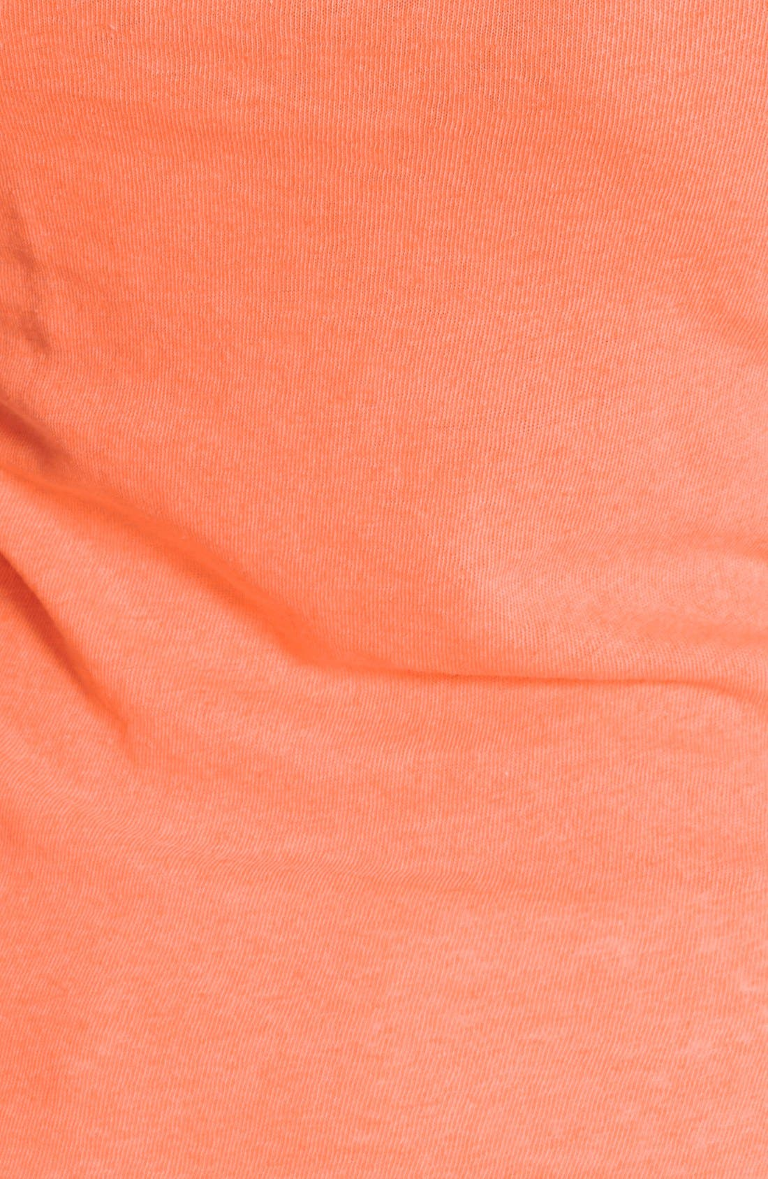 Alternate Image 3  - Lucky Brand Split Neck Linen Knit Tank