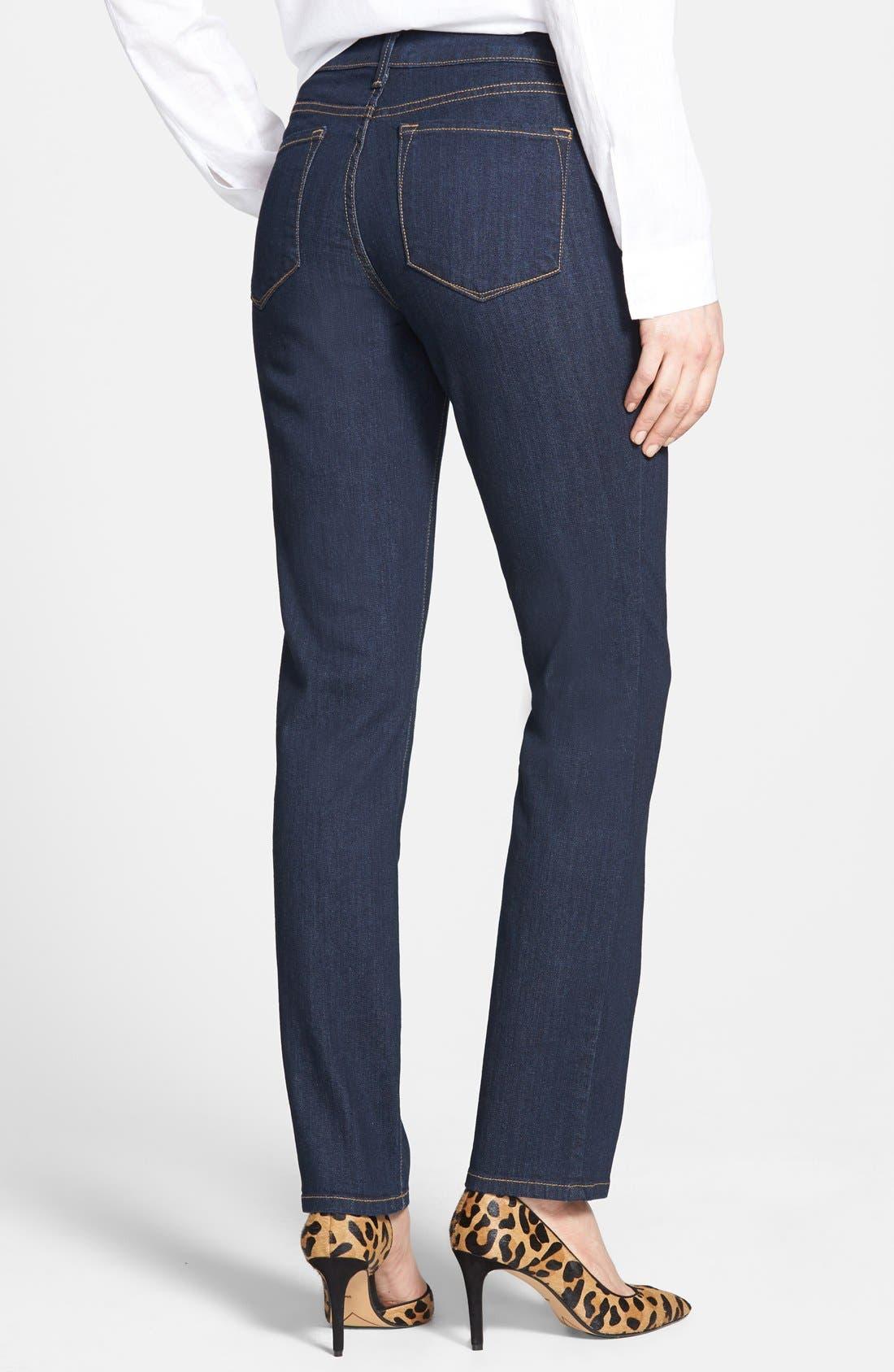 Alternate Image 2  - NYDJ 'Sheri' Stretch Skinny Jeans (Larchmont) (Online Only)