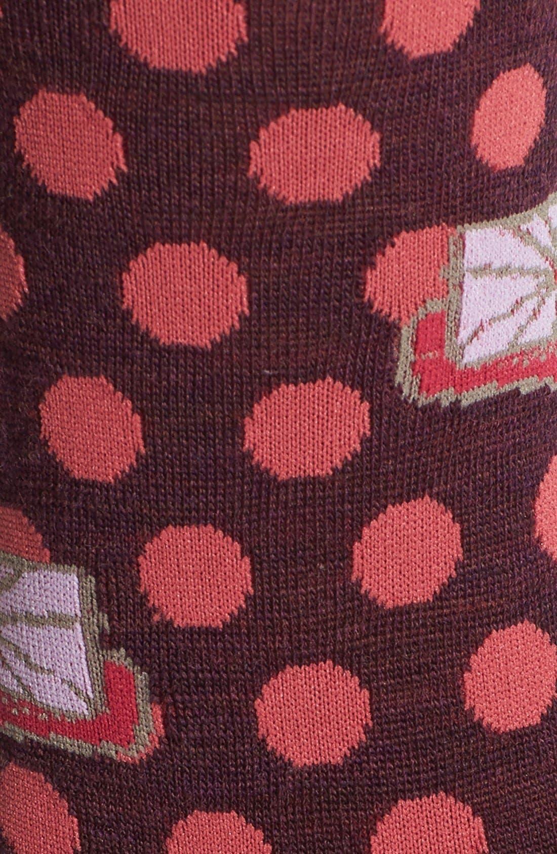 Alternate Image 2  - Smartwool 'Dancing Dots' Merino Wool Blend Crew Socks