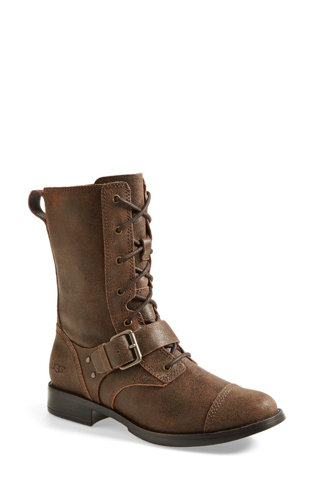 Alternate Image 1 Selected - UGG® Australia 'Marela' Convertible Combat Boot (Women)
