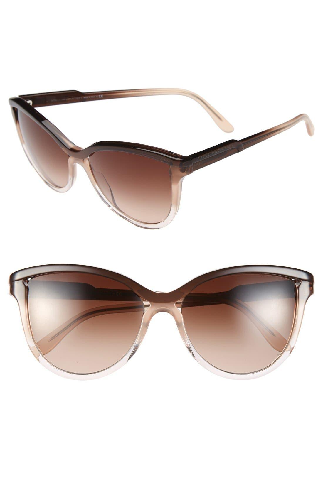 Main Image - Stella McCartney 58mm Retro Sunglasses