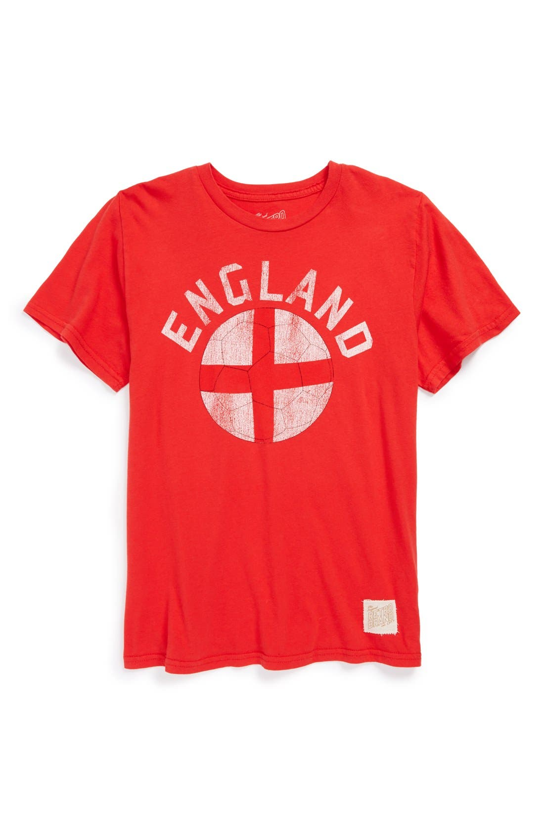 Alternate Image 1 Selected - Retro Brand 'England Soccer' Graphic T-Shirt (Big Boys)